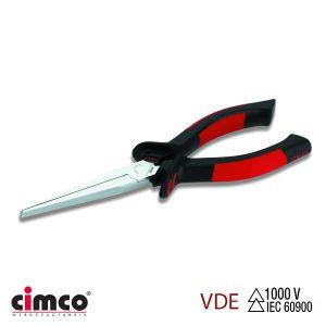 Πένσα μηχανικού διπλή μόνωση VDE επίπεδη μύτη CIMCO