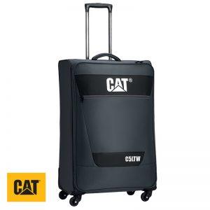 Βαλίτσες τροχήλατες με τηλεσκοπική λαβή C5LTW CAT