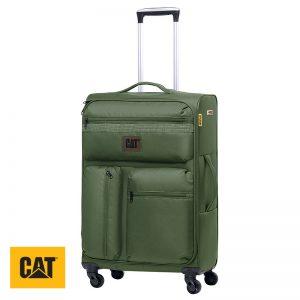 Βαλίτσες τροχήλατες με τηλεσκοπική λαβή CUBE COMBAT CAT