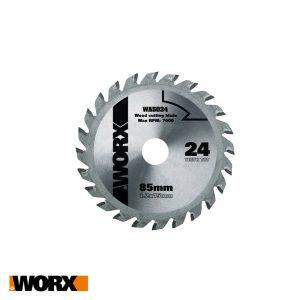 Δίσκος κοπής ξύλου 24Τ 85mm WORX