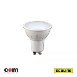 Λαμπτήρες φωτισμού GU10 LED 7w Ecoline