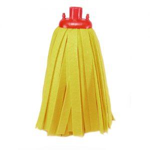 Ανταλλακτικό σφουγγαρίστρας Vetex καρό κίτρινη Α