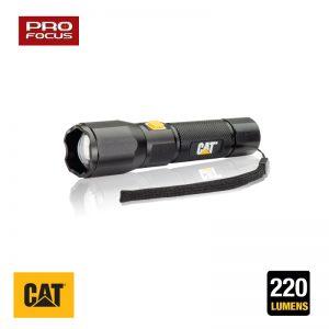 Φακός ρυθμιζόμενης εστίασης 220 lum. CAT Light