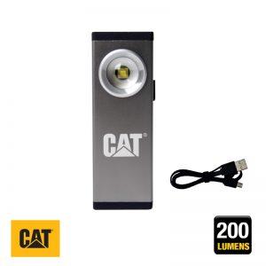 Φακός αλουμινίου επαναφορτιζόμενος CAT Light
