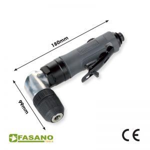 Δράπανο αέρος γωνιακό 90° 1-10mm FASANO