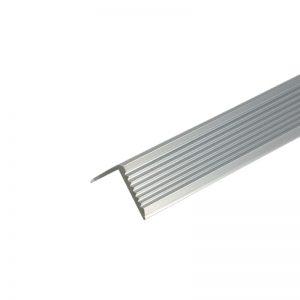 Γωνιές αλουμινίου ισοσκελείς ριγέ 5 m