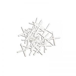 Σταυροί πλακιδίων πλαστικοί λευκοί