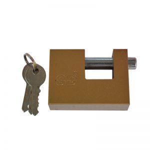 Λουκέτα ασφαλείας τάκος με 2 κλειδιά