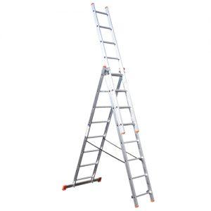 Σκάλες αλουμινίου επαγγελματικές τριπλές