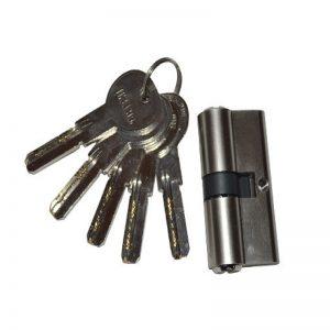 Κύλινδροι ασφαλείας νίκελ με βούλα και 5 κλειδιά
