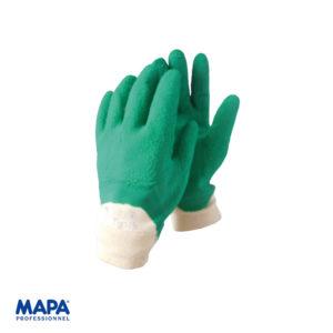 Γάντια βαμβακερά εμποτισμένα σε φυσικό ελαστικό