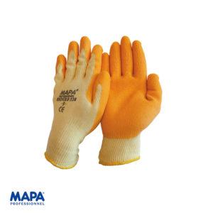 Γάντια εργασίας με επικάλυψη από φυσικό Latex
