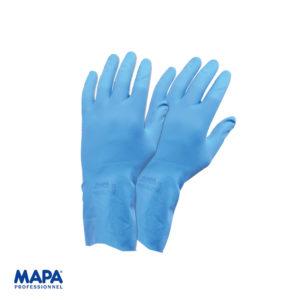 Γάντια νιτριλίου για τρόφιμα μπλέ