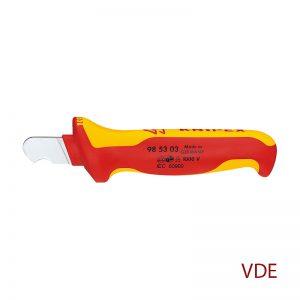 Μαχαίρι απογυμνωτής στρογγυλών καλωδίων KNIPEX