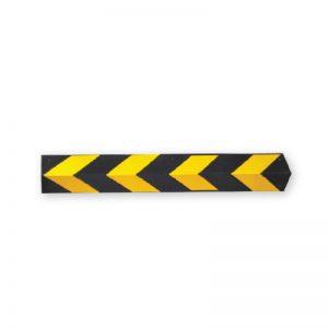 Γωνιά προστασίας μαύρη-κίτρινη