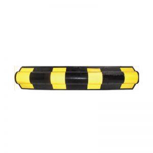 Γωνιά προστασίας στρογγυλή μαύρη-κίτρινη