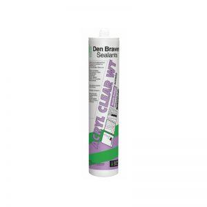 Ακρυλικό σφραγιστικό διάφανο Clear-WT Den Braven