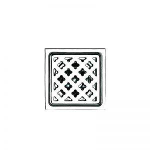 Σχάρα δαπέδου ανοξείδωτη τετράγωνη