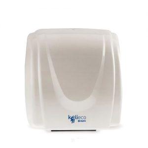 Στεγνωτήρας χεριών θερμού αέρα λευκός με ανιχνευτή κίνησης
