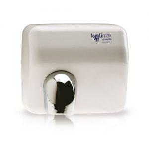 Στεγνωτήρας χεριών θερμού αέρα μεταλλικός λευκός με ανιχνευτή κίνησης