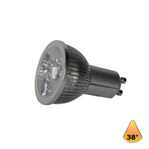 Λαμπτήρες LED ισχύος 4W GU10 AC 220-240V