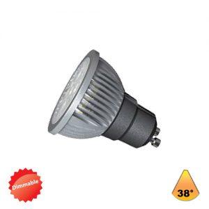 Λαμπτήρες LED 7W GU10 AC 220-240V με ρυθμιστή έντασης