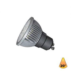 Λαμπτήρες LED ισχύος 7W GU10 AC 220-240V 20°