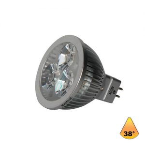 Λαμπτήρες LED ισχύος 4W GU5.3 AC/DC-12V