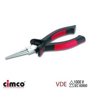 Μυτοτσίμπιδο με διπλή μόνωση VDE και μεγάλη στρογγυλή μύτη 160 mm CIMCO