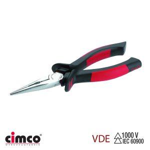 Τσιμπίδα με μόνωση VDE ίσια οβάλ μύτη CIMCO