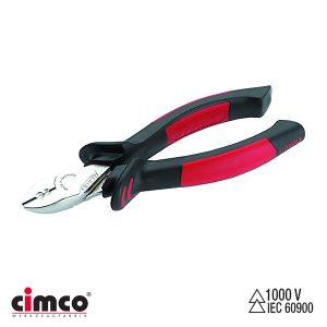 Πλαγιοκόφτης με απογυμνωτή και μόνωση 1000V CIMCO