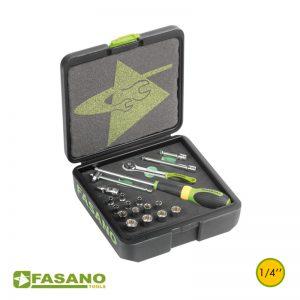 Σετ εργαλεία σε κασετίνα 19 τεμ. FASANO