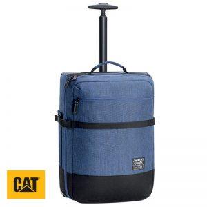 Σακίδιο τροχήλατο τετράγωνο με τηλεσκοπική λαβή 35ltr CAT