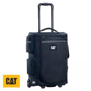 Βαλίτσα τροχήλατη πολυεστερική με τηλεσκοπική λαβή CAT