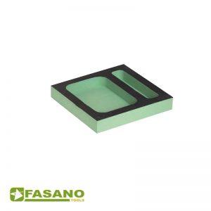 Μαλακή θήκη εραγείων τετράγβνη δύο σημείων FASANO