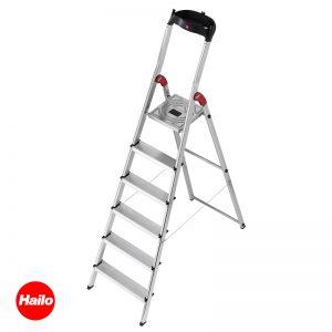 Σκάλα αλουμινίου EASY CLIX L60 HAILO