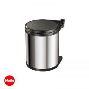 Κάδος απορρημάτων κουζίνας inox COMPAC-BOX HAILO