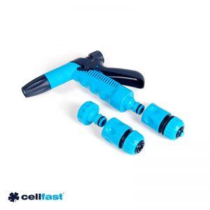 Σετ πιστόλι ποτίσματος JET με εξαρτήματα 1/2″ CELLFAST