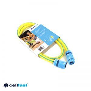 Λάστιχο 1/2″ 1.5m με δύο ταχυσύνδεσμους CELLFAST
