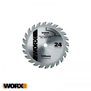 Δίσκος κοπής ξύλου 120 mm 24T TCT WIDIA WORX