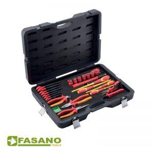 Σετ μονωμένων εργαλείων σε βαλίτσα FASANO