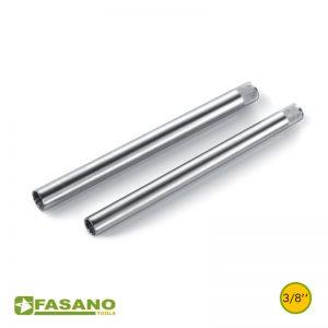 """Σετ καρυδάκια για μπουζί εξάγωνα μακρυά 3/8"""" FASANO"""