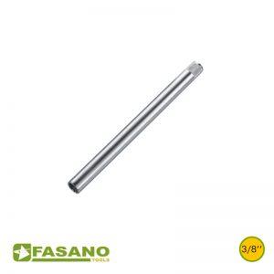 """Καρυδάκια για μπουζί εξάγωνα μακρυά 3/8"""" FASANO"""