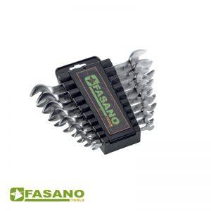 Σετ γερμανικά κλειδιά διπλά DIN 3110 σε θήκη FASANO