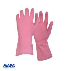 Γάντια οικιακής χρήσης φυσικό ελαστικό & επένδυση