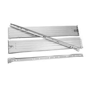 Πλαϊνά συρταριών γκρι μεταλλικά 50cm