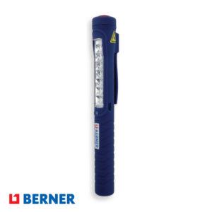 Επαναφορτιζόμενος φακός LED 7+1 με USB BERNER