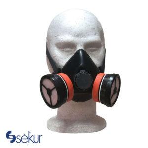 Μάσκα μισού προσώπου SEKUR T100/2