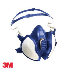 Μάσκα μισού προσώπου χωρίς συντήριση 3Μ