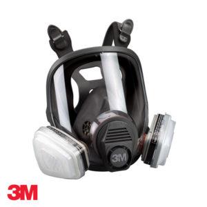 Μάσκα ολόκληρου προσώπου 2 φίλτρων αερίων & ατμών 3M